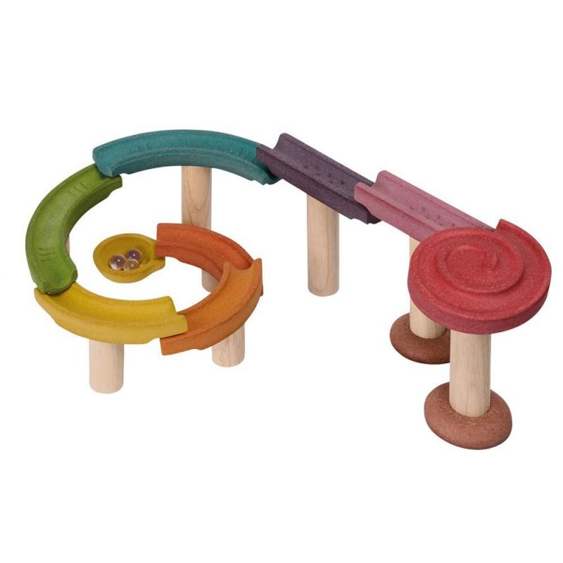 Houten knikkerbaan, Plan Toys