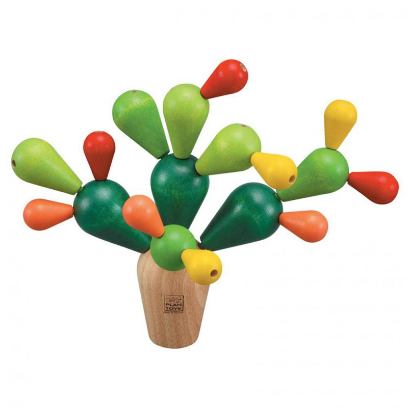 Balancing cactus spel, Plan Toys