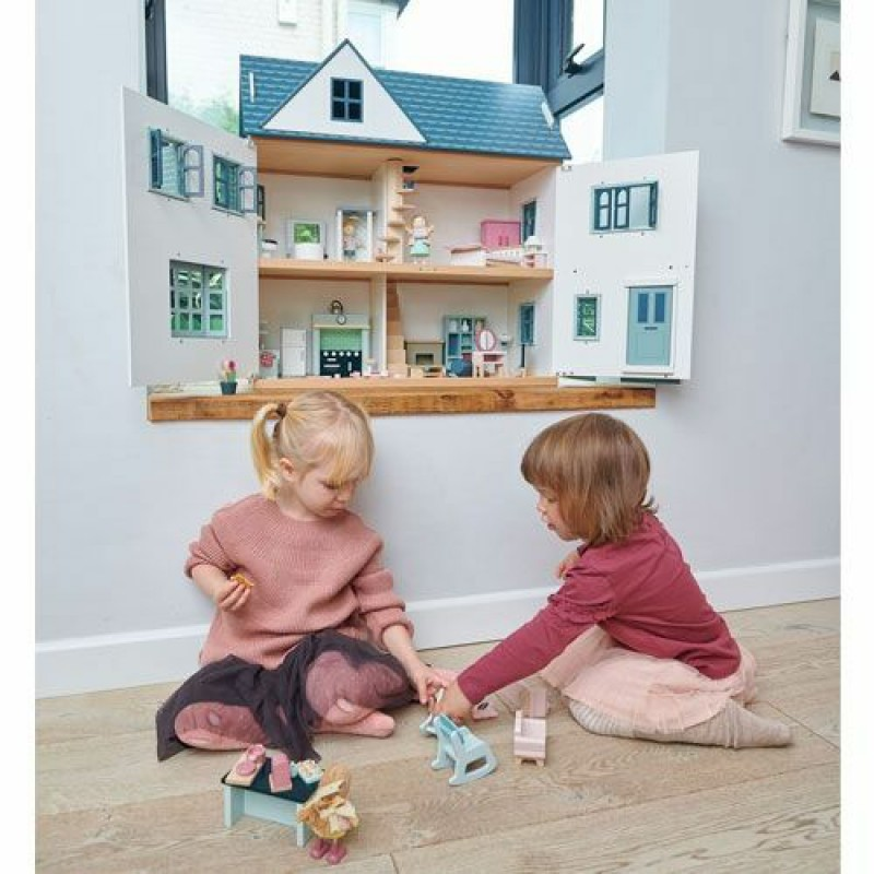 Kinderkamer poppenhuis, Tender Leaf Toys