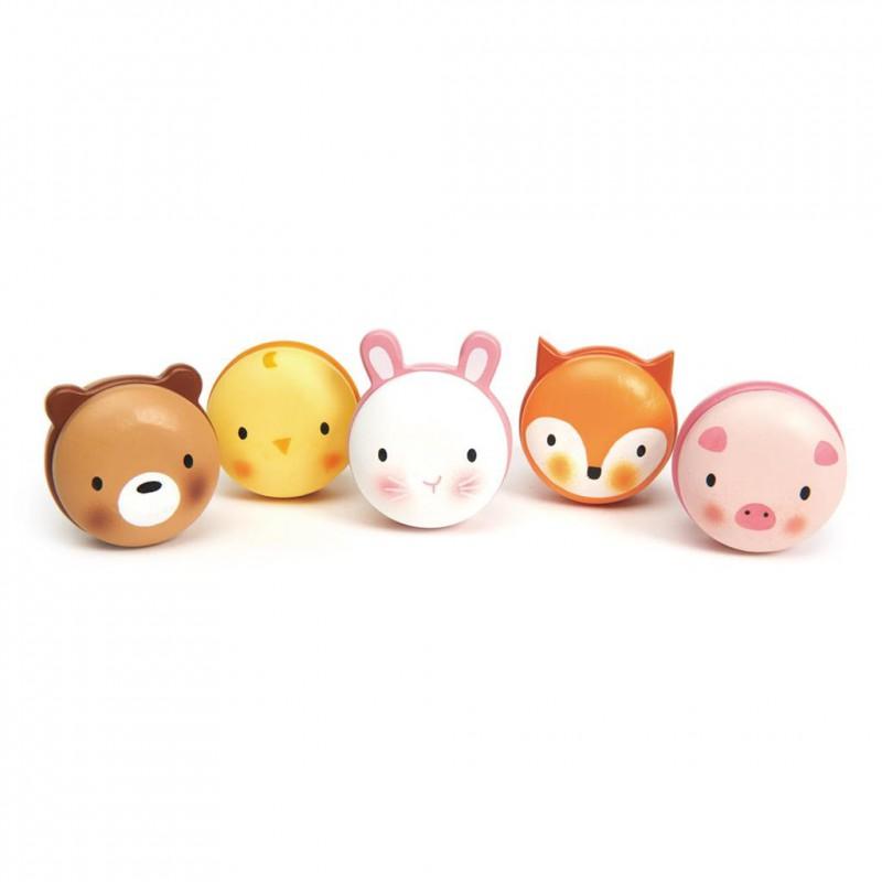 Macarons dieren, Tender Leaf Toys
