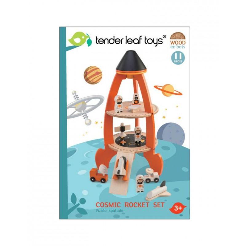 Ruimteraket, Tender Leaf Toys