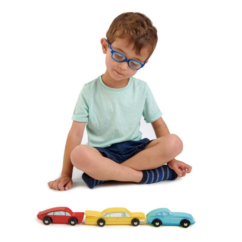 Retro auto's, Tender Leaf Toys