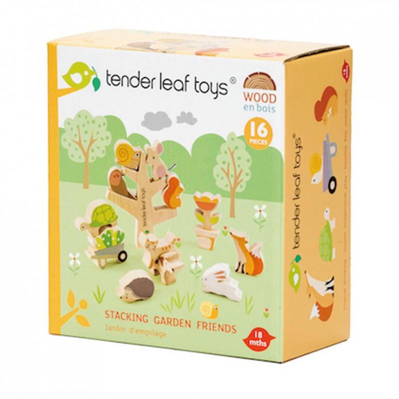 Stapeltuin met dieren, Tender Leaf Toys