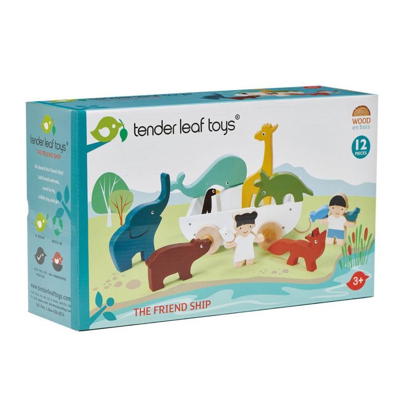 Vriendschapsboot, Tender Leaf Toys