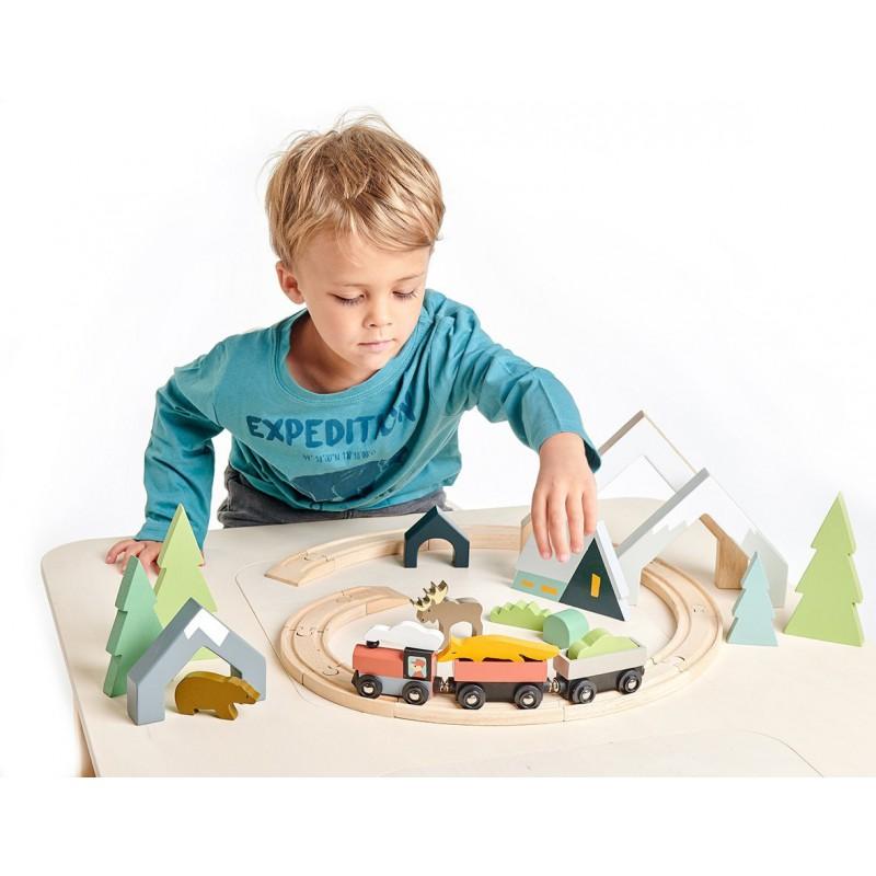 Houten bergtunnels, Tender Leaf Toys