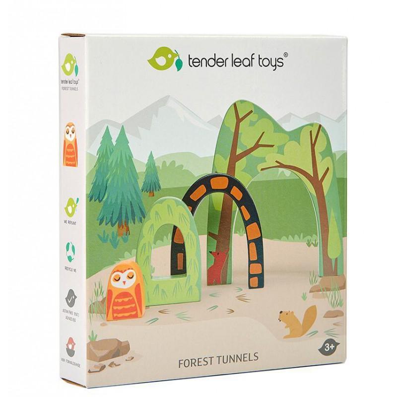 Houten bostunnels, Tender Leaf Toys