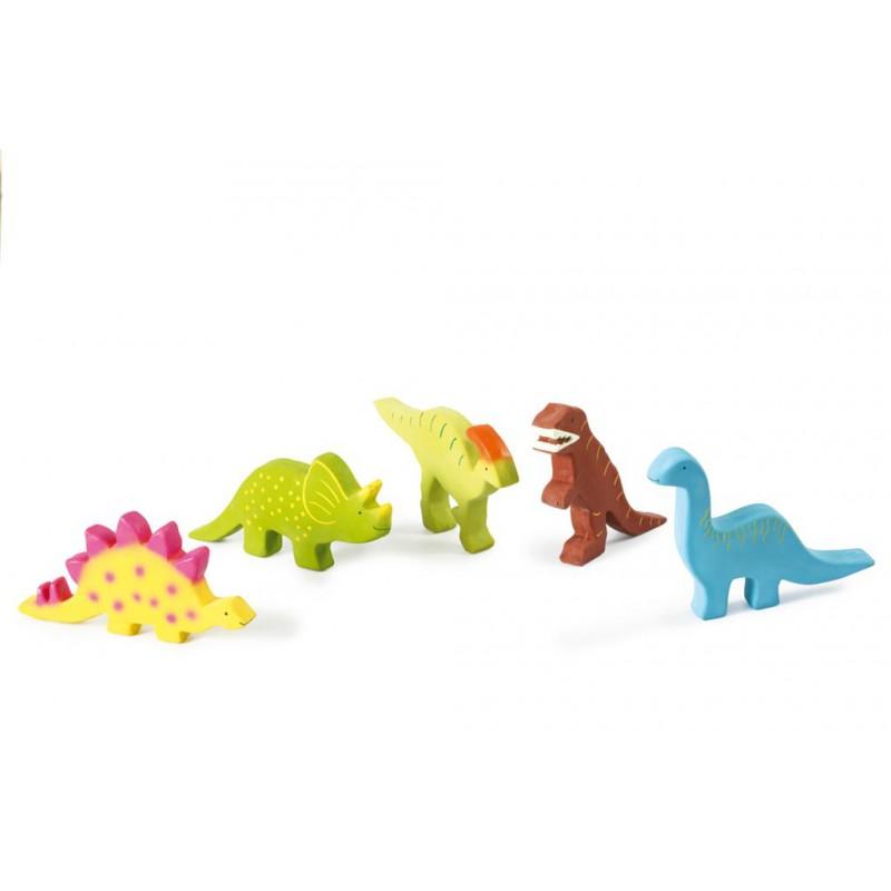 Bijt- en badspseeltje stegosaurus, Tikiri