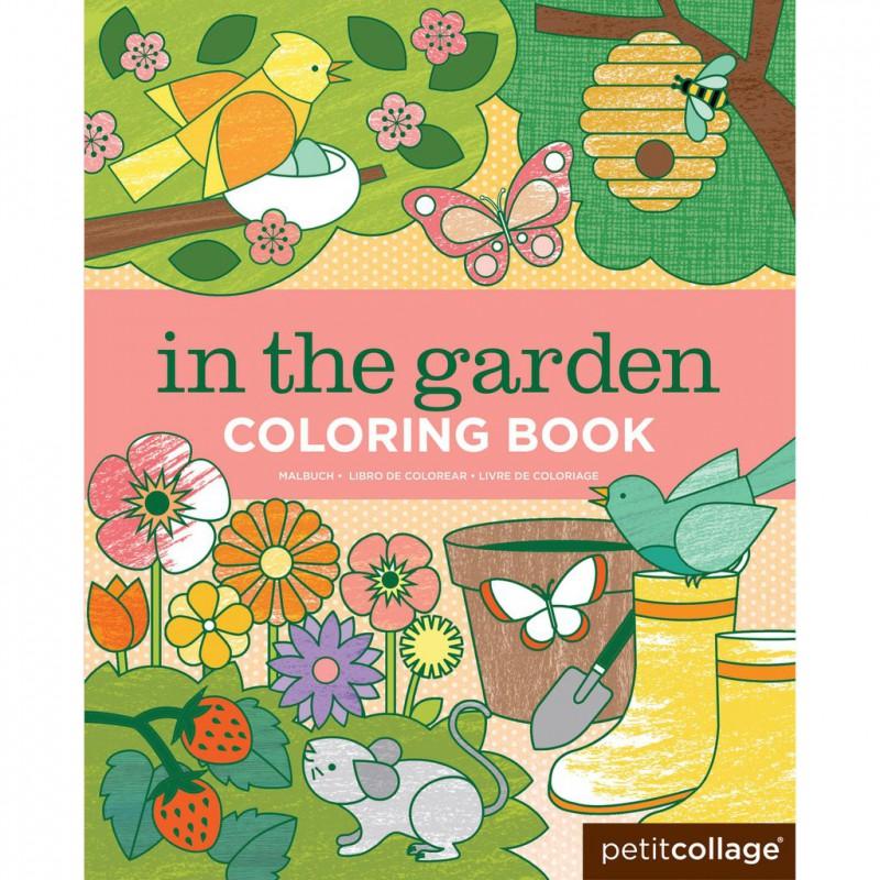 Kleurboek In de Tuin, Petit Collage