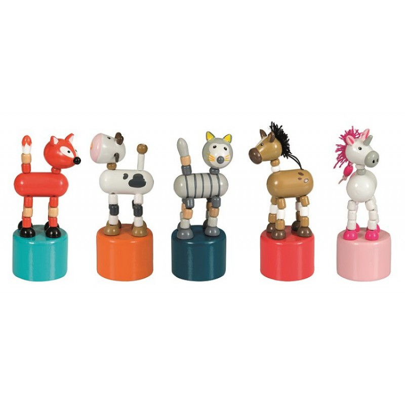 Press-up paardje, Egmont Toys