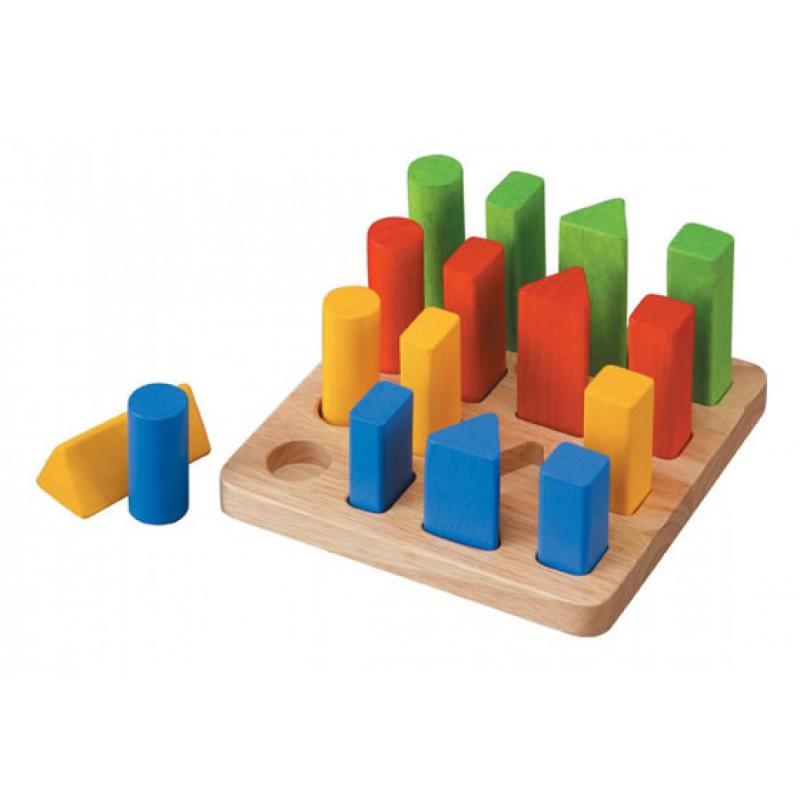 Vormenplank, Plan Toys