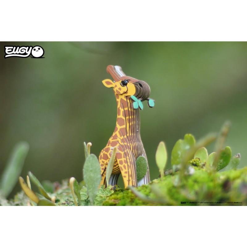 Giraffe 3D bouwpakket, Eugy