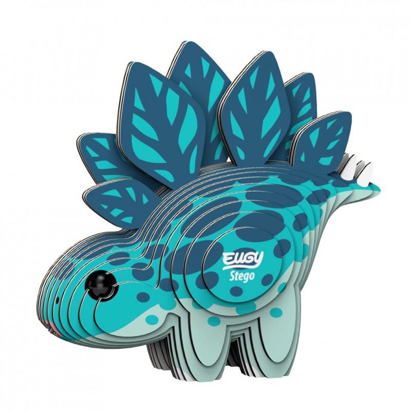 Stegosaurus 3D bouwpakket, Eugy