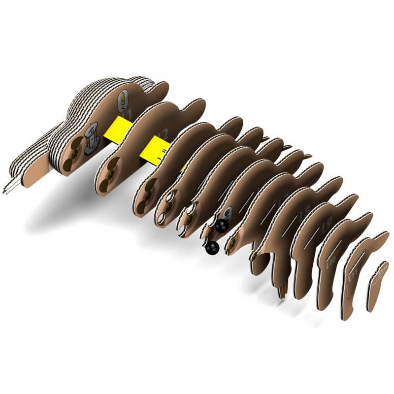 Luiaard 3D bouwpakket, Eugy