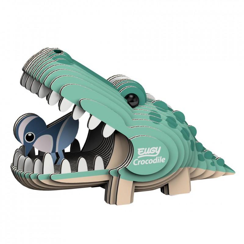 Krokodil 3D bouwpakket, Eugy