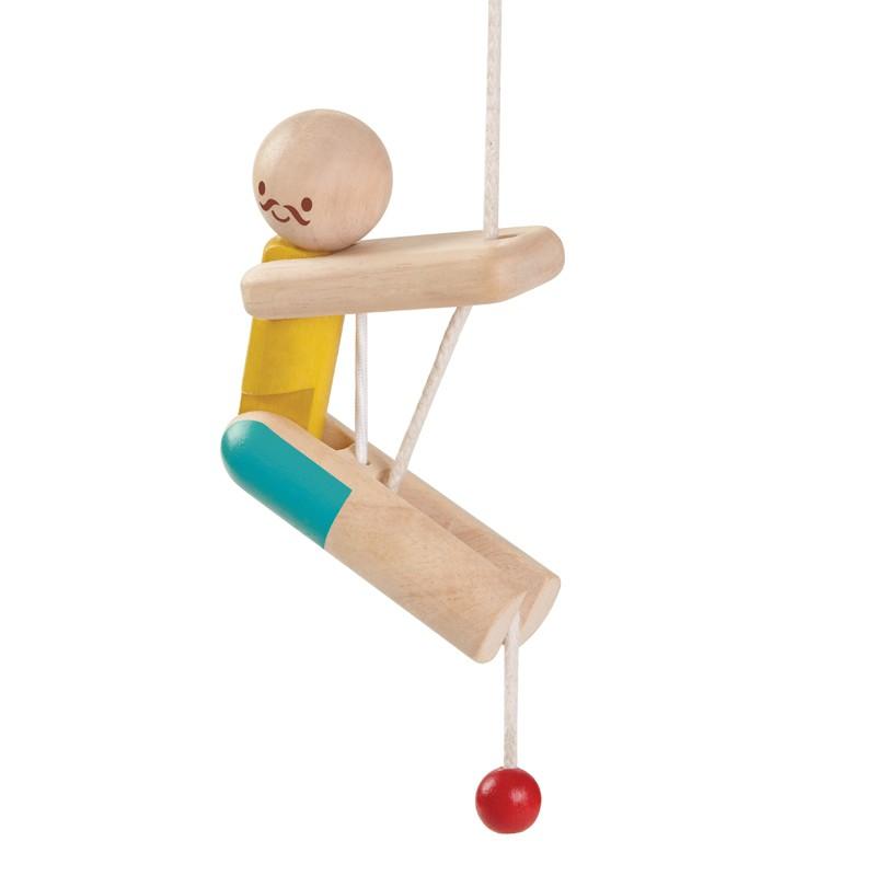 Klimmende acrobaat, Plan Toys