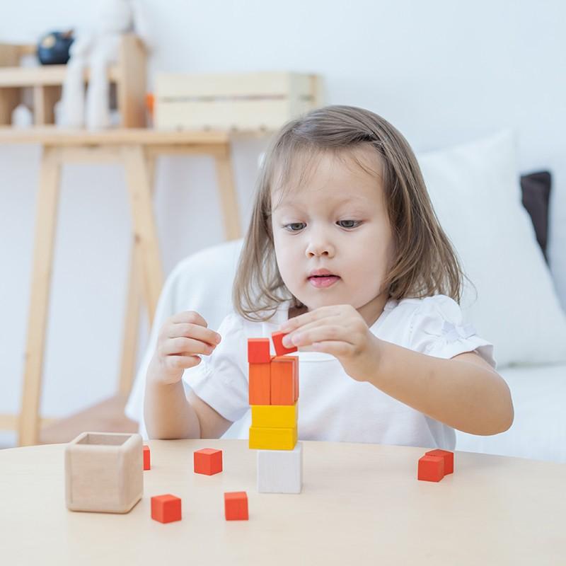 Fraction kubussen, Plan Toys