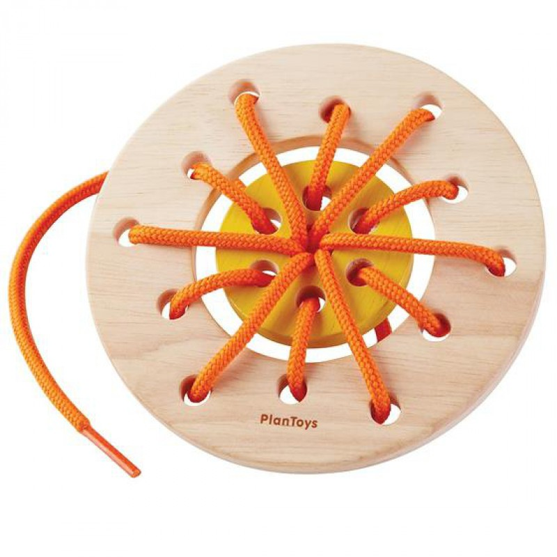 Rijgbord ring, Plan Toys