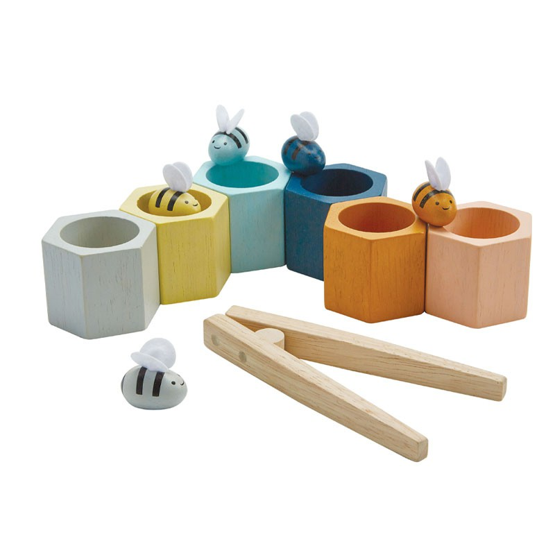 Bijenkorf spel, Plan Toys Orchard Collection