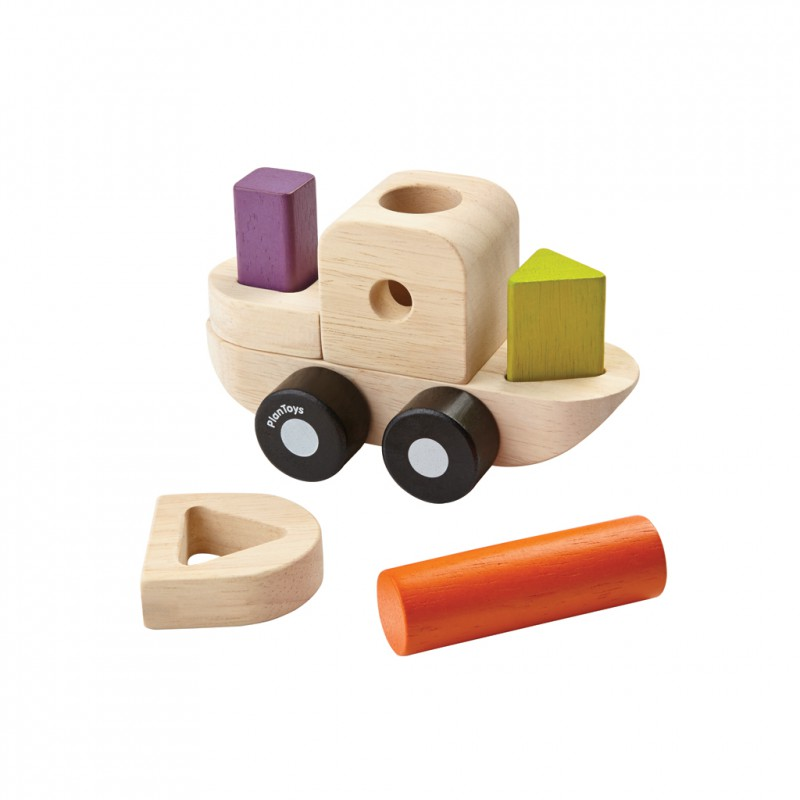 Sorteerpuzzel boot, Plan Toys