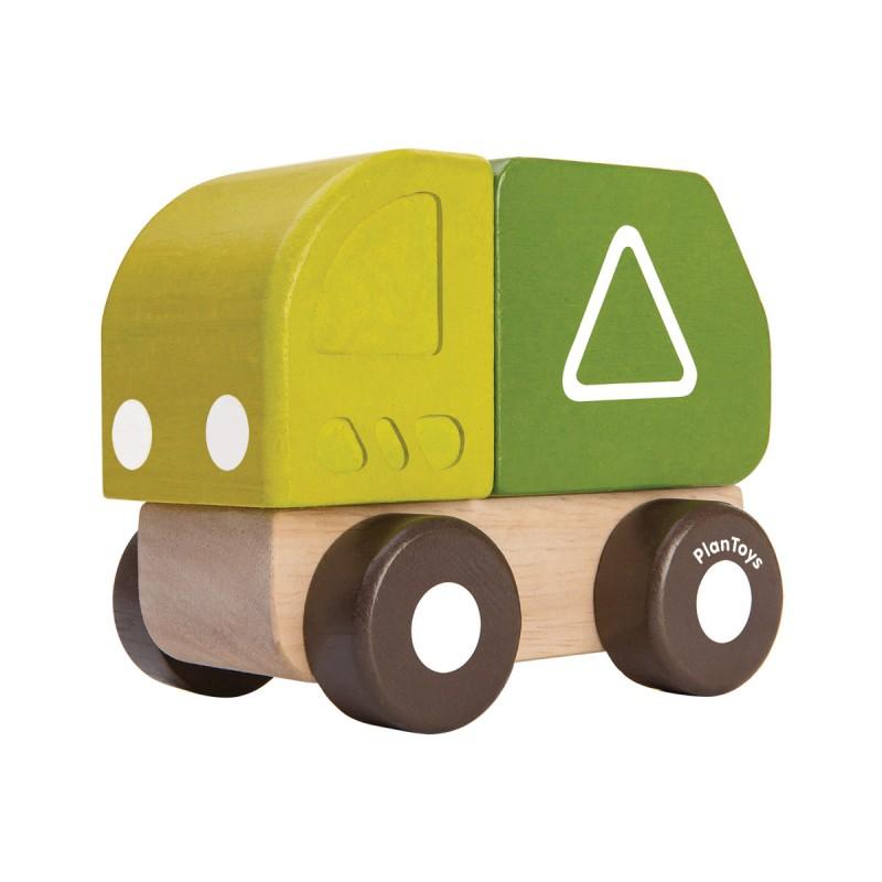Mini vuilniswagen, Plan Toys