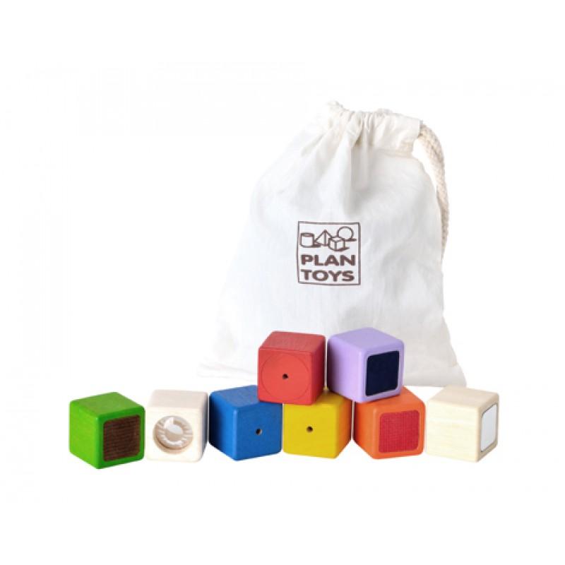 Activity blokken, Plan Toys