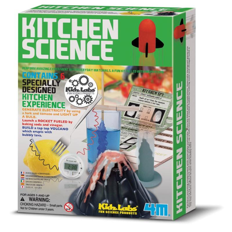 Experimenten in de Keuken, 4M KidzLabs