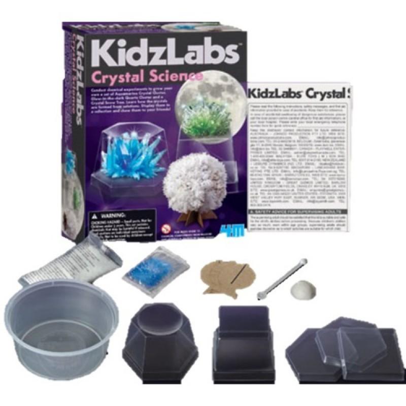 Crystal Science, 4M KidzLabs