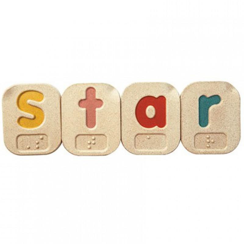 Braille alfabet, Plan Toys