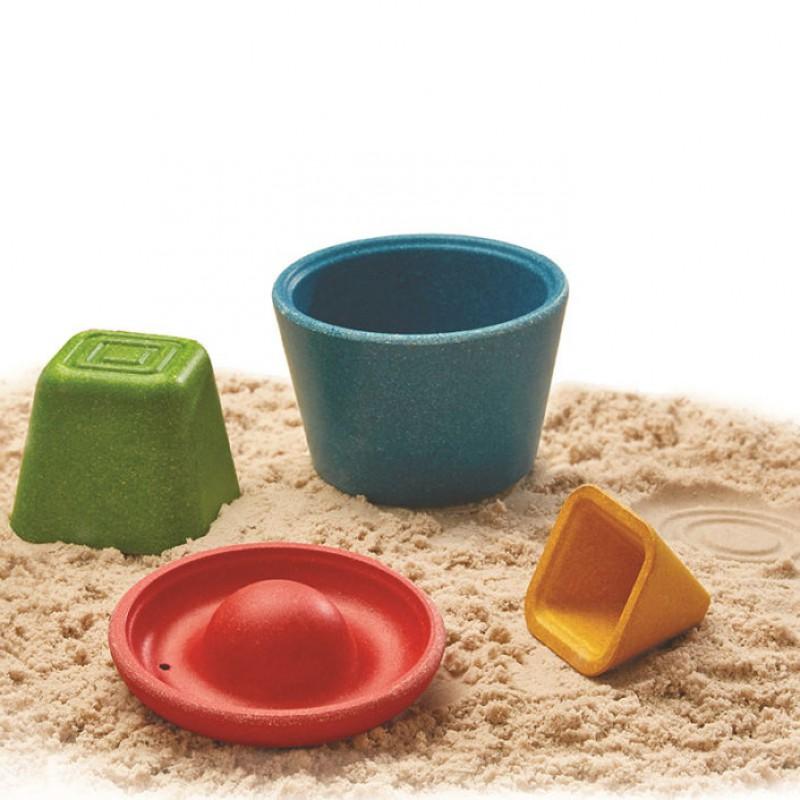 5804 Zandvormen speelset, Plan Toys