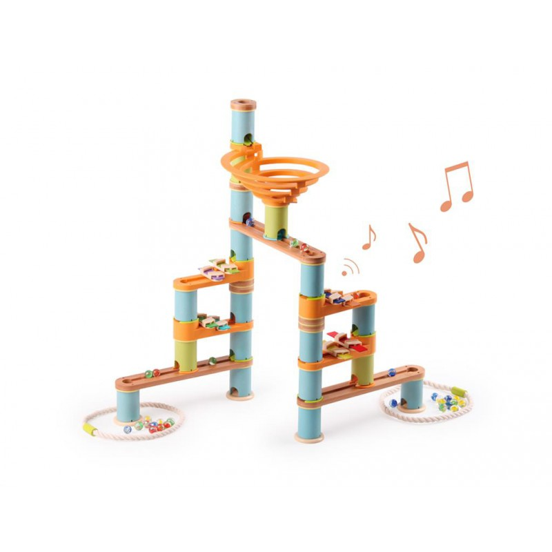 Knikkerbaan Muziek 98-delig, Bamboo Planet