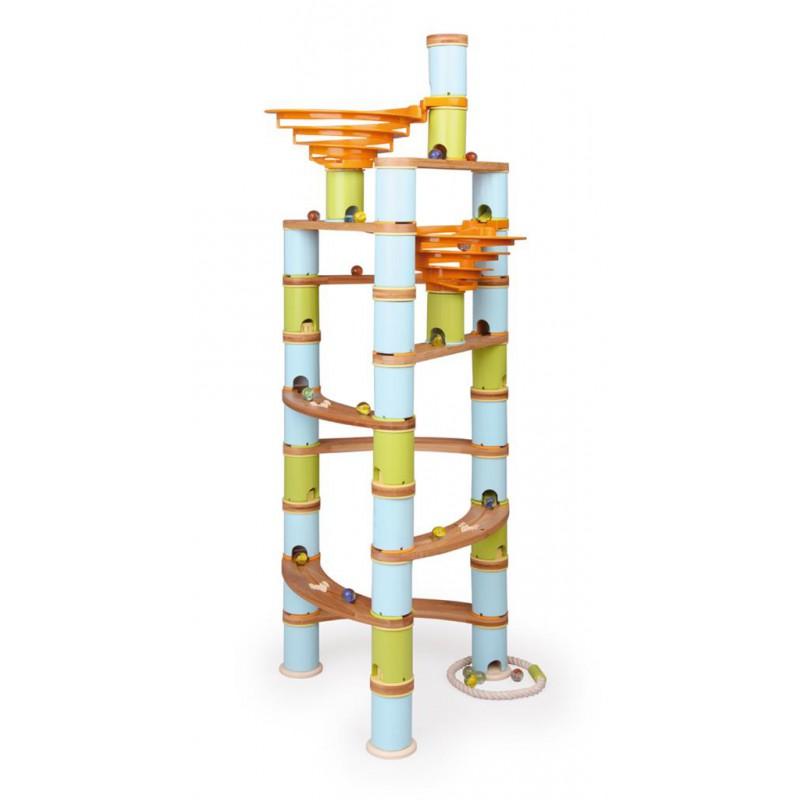 Knikkerbaan Jumbo 138-delig, Bamboo Planet