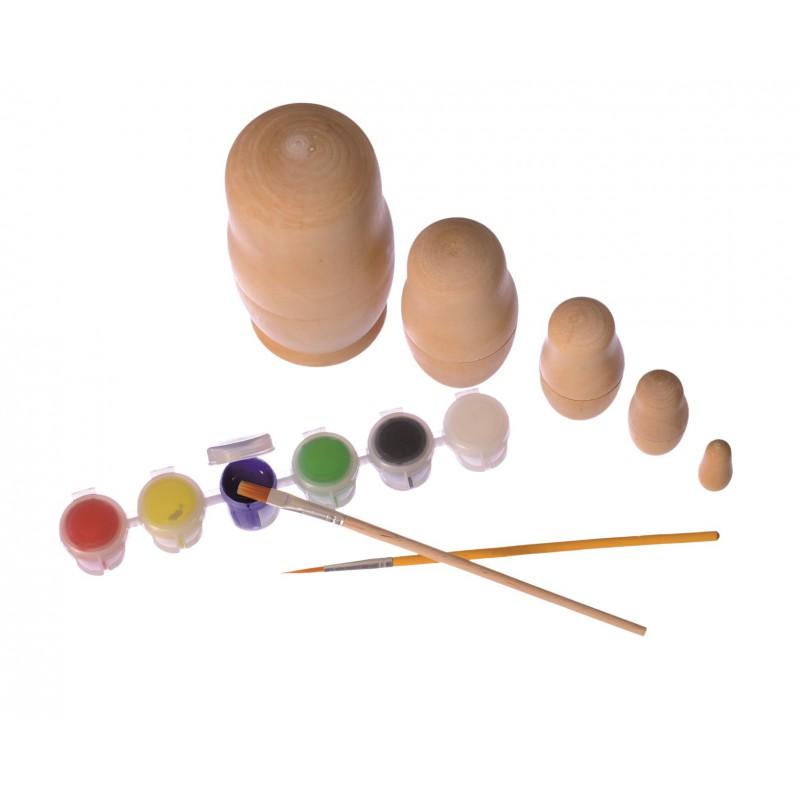 Matroesjka schilderen, Egmont Toys