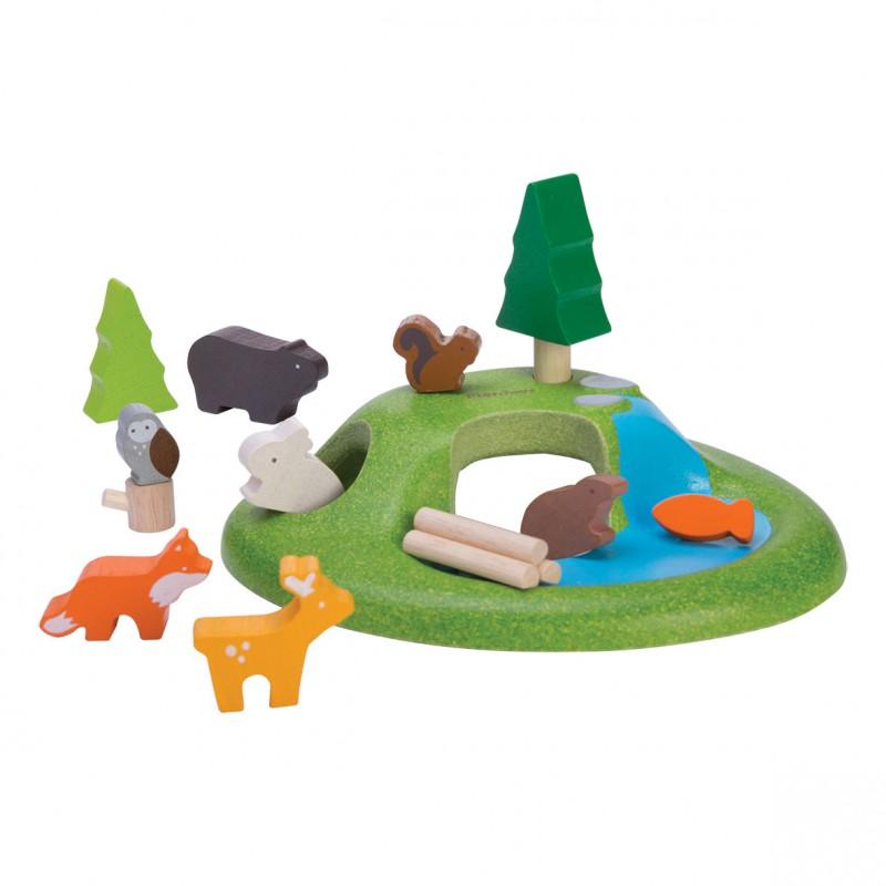 Dieren set, Plan Toys