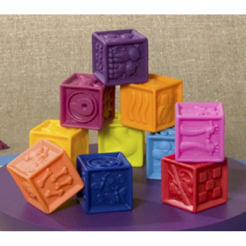 One Two Squeeze blokken, B. toys
