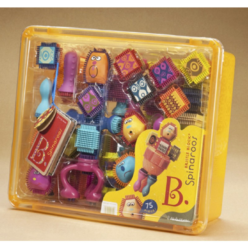 Bristle Block Spinaroos, B. toys