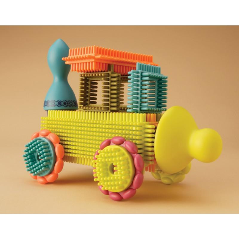 Bristle Block Stackadoos, B. toys
