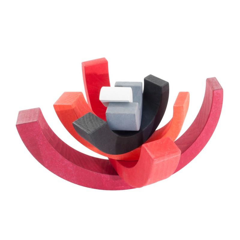 Asymmetrische boog rood, Bajo