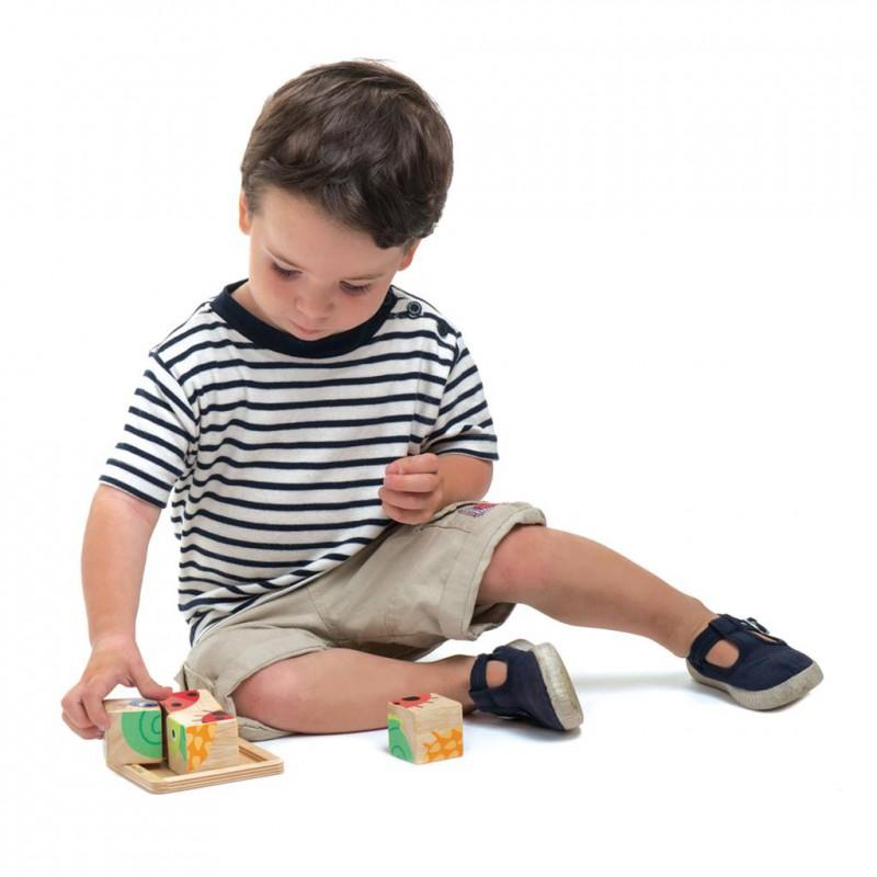 Blokpuzzel, Tender Leaf Toys