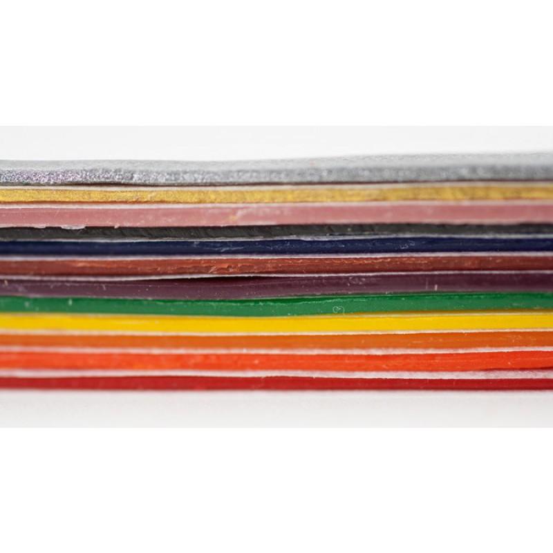 Kaarsen versierwas 18 kleuren, Stockmar