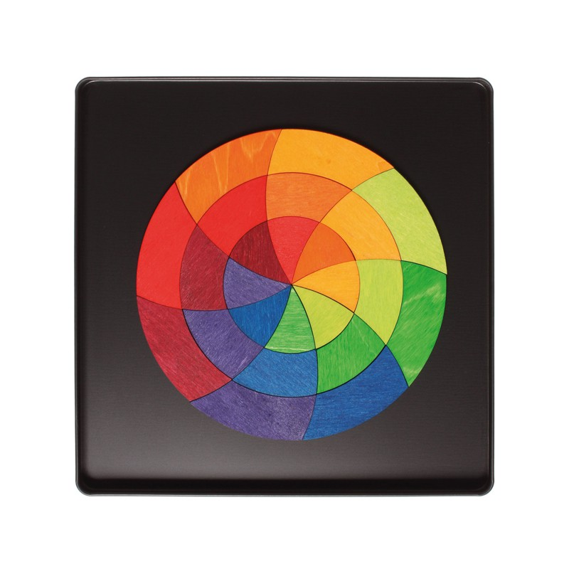 Magneetpuzzel kleurencirkel Goethe, Grimm's