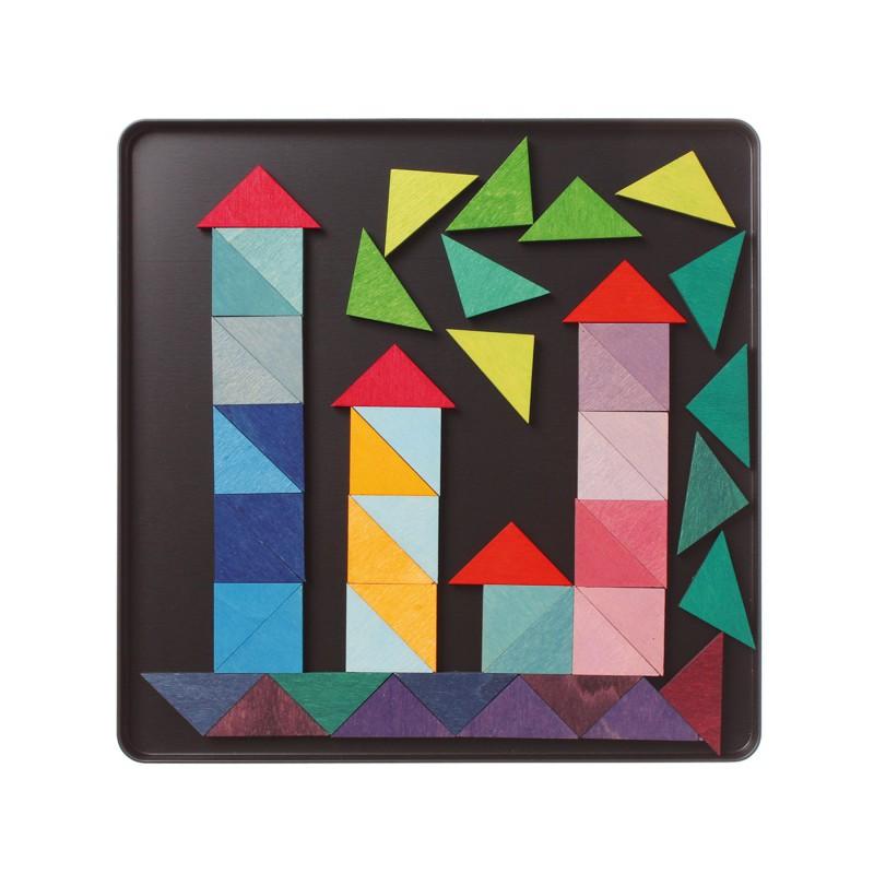 Magneetpuzzel driehoeken, Grimm's
