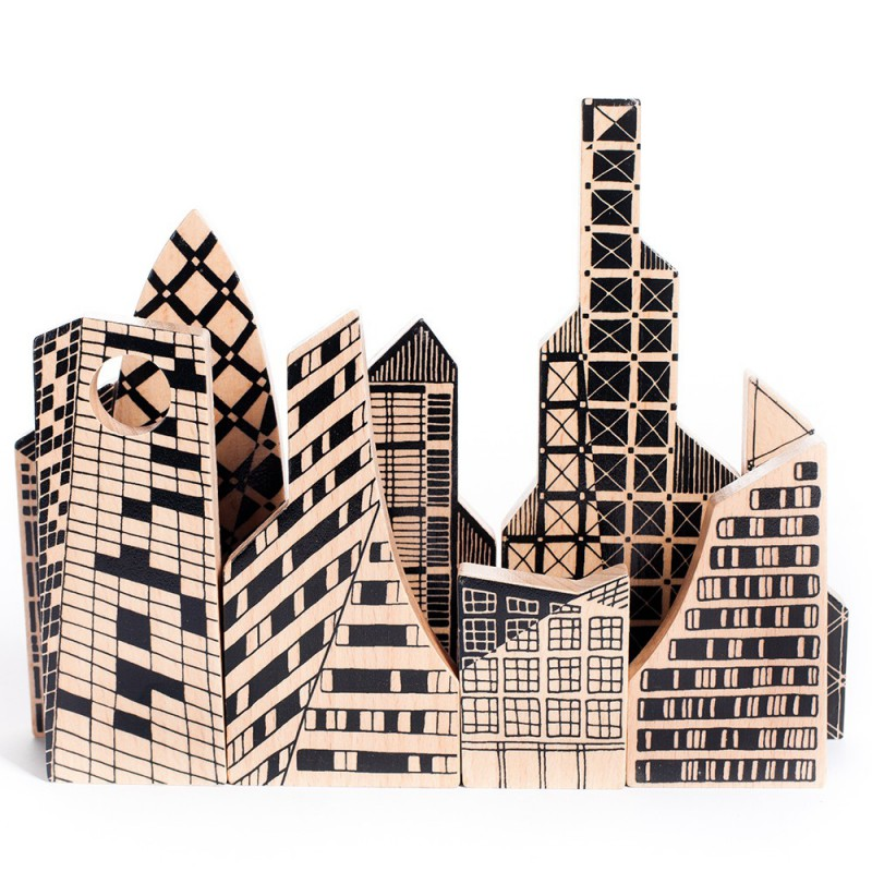 Puzzelblokken stad, Bajo