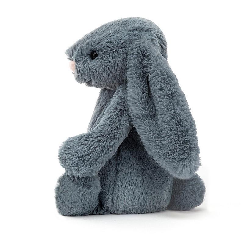 Konijn Dusky Blue, Jellycat Bashful S
