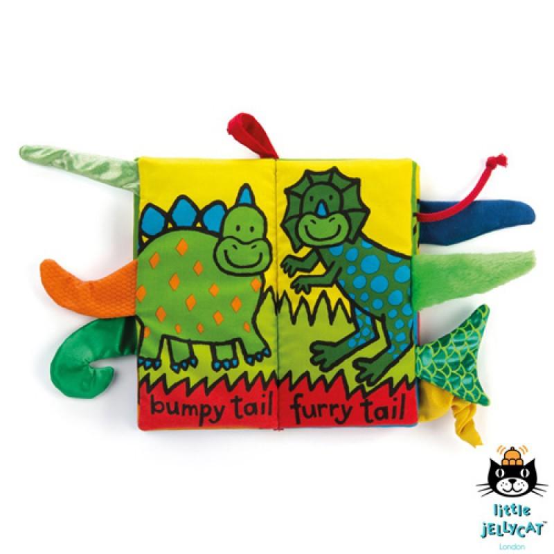 Staartenboek dino's, Jellycat