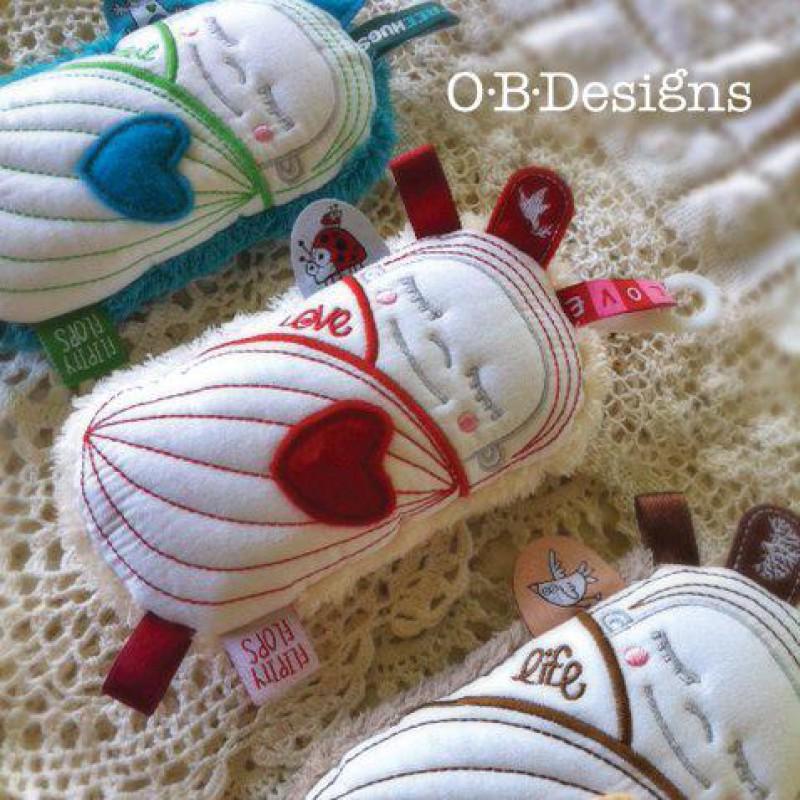 Seed Bub met bel, OB Designs
