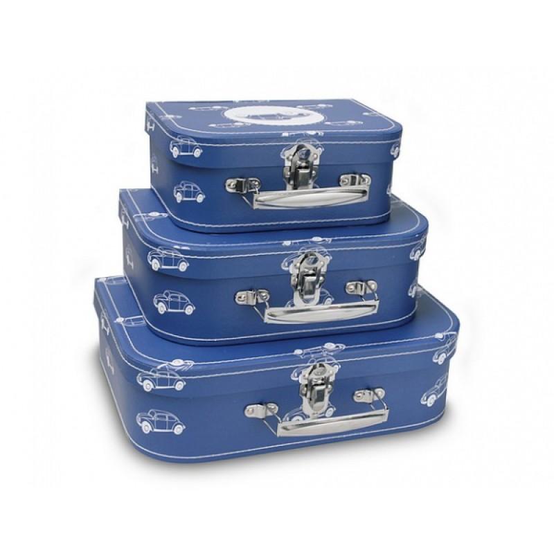 Koffertje Cars in Blue, Cara Caro