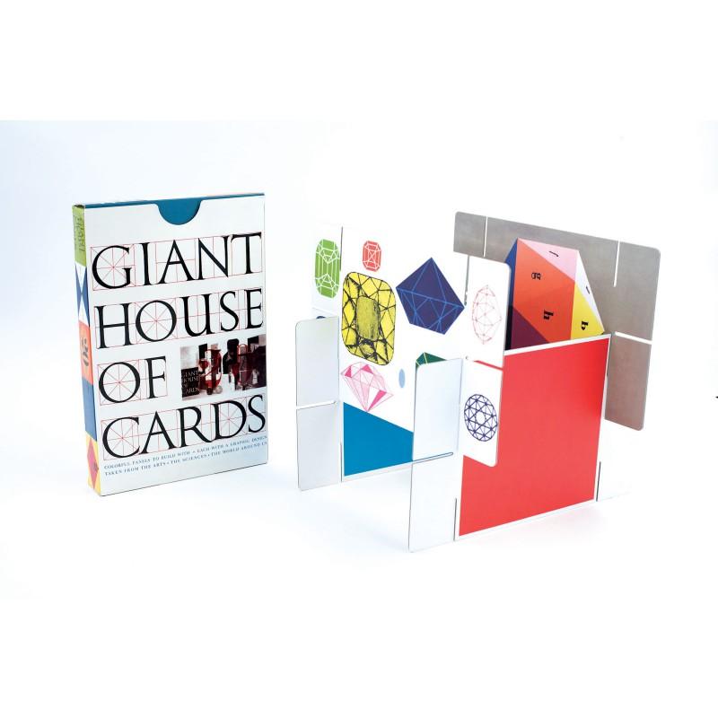 Eames House of Cards, gigantisch kaartenhuis