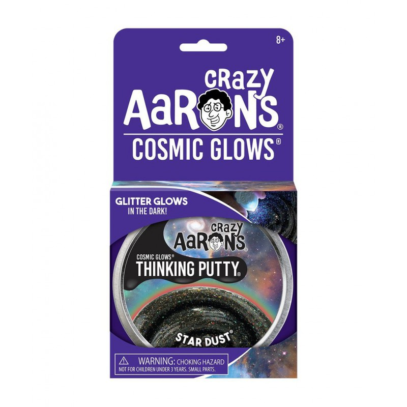 Star Dust, Crazy Aarons Cosmic Glows thinking Putty