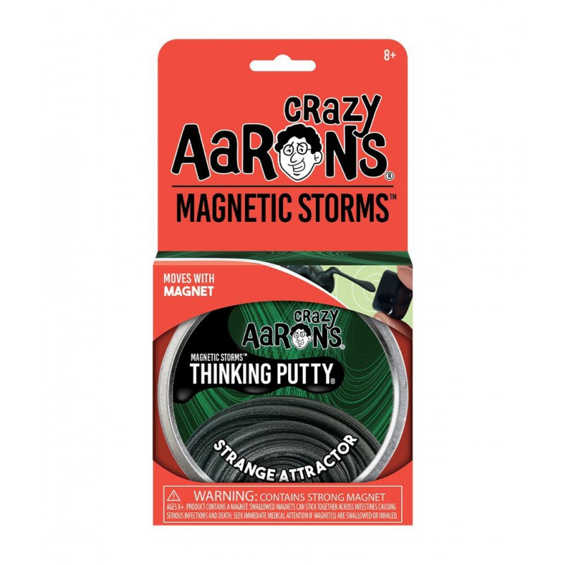 Strange Attractor, Crazy Aarons Magnetics thinking Putty