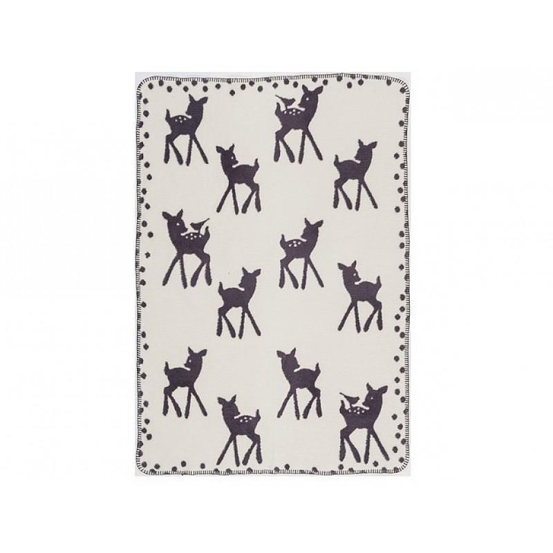 Wiegdekentje Bambi Grey, Cara Caro
